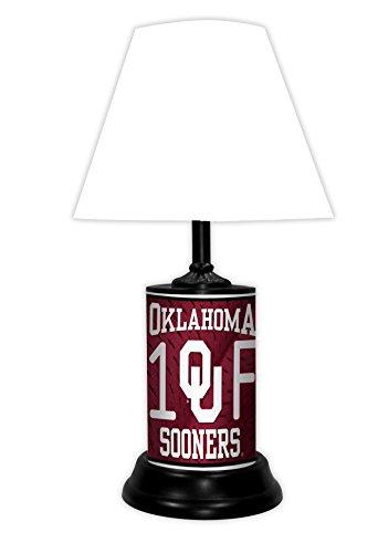 OKLAHOMA SOONERS NCAA LAMP - BY TAGZ SPORTS