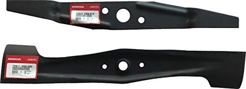 - Honda 72511-VK6-000 & 72531-VK6-010 Mower Blade Set