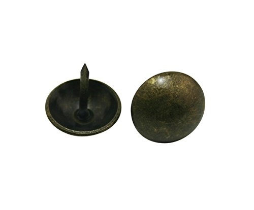 Antique Brass Round Large-headed Nail Diameter - 9