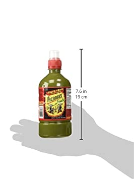 Amazon.com : B&B Picamas Green Hot sauce 19 oz - Salsa verde picante (Pack of 12) : Grocery & Gourmet Food