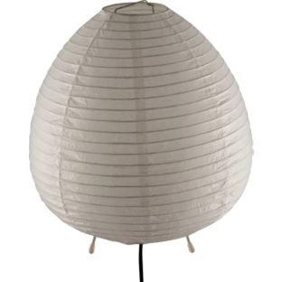ColourMatch Paper Table Lamp Super White
