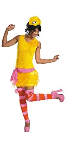 [Big Bird Sassy Costume - Small - Dress Size 4-6] (Big Bird Male Costumes)