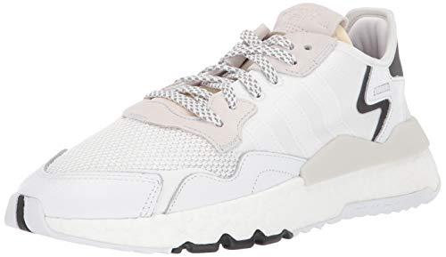 adidas Originals Men's NITE Jogger Running Shoe, Crystal White, 7.5 M - Jogger Original