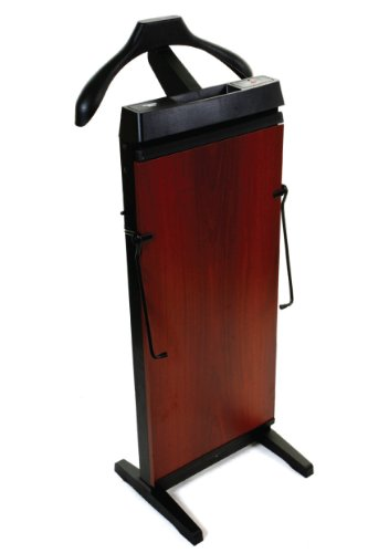 Freestanding Trouser Press - Corby Of Windsor 3300 Pants Press In Mahogany