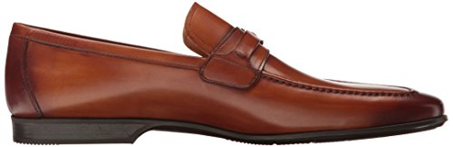 Reva on Loafer Cognac Slip Magnanni Men's 0OwqRTf