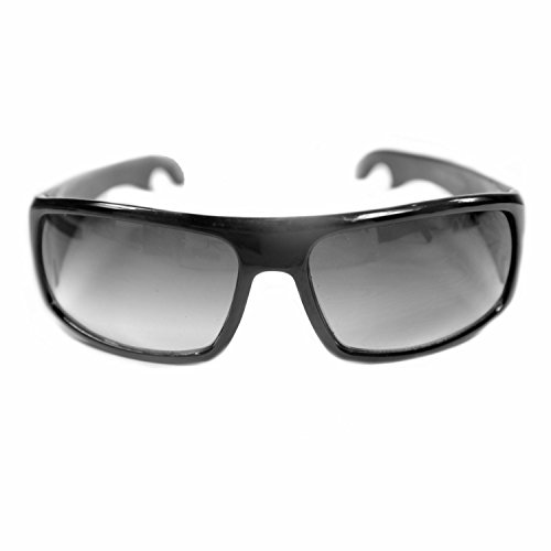 The Playmakers - Black Sport Sunglasses with Built-in Bottle Opener!