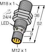 Turck BI5-M18-AP6X-H1141 INDUCTIVE PROXIMITY SENSOR