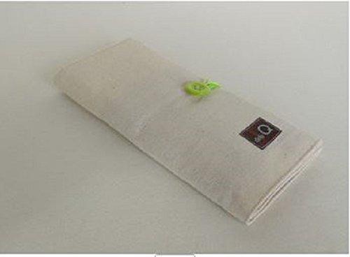 Della Q Cotton Interchangeable Needle Case 195-1 Double - Natural by DELLA