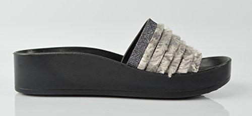 Grau CAPRIUM Donna 1 Caviglia sulla Modell Aperte n4x4CUH