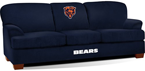 Imperial Officially Licensed NFL Furniture: First Team Microfiber Sofa/Couch, Chicago Bears