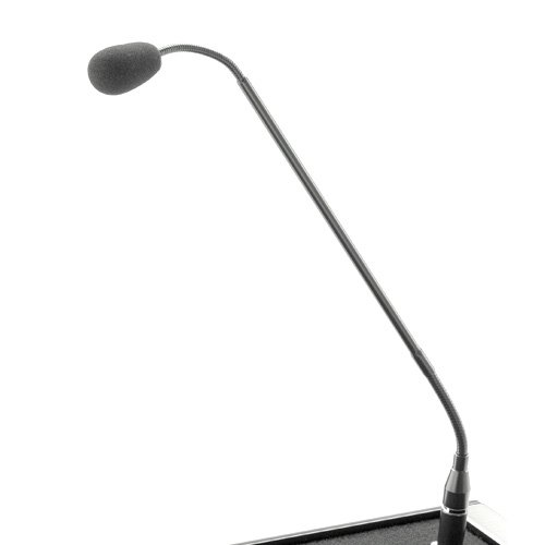 Da-Lite Lectern Microphone with 25' Extension Cord