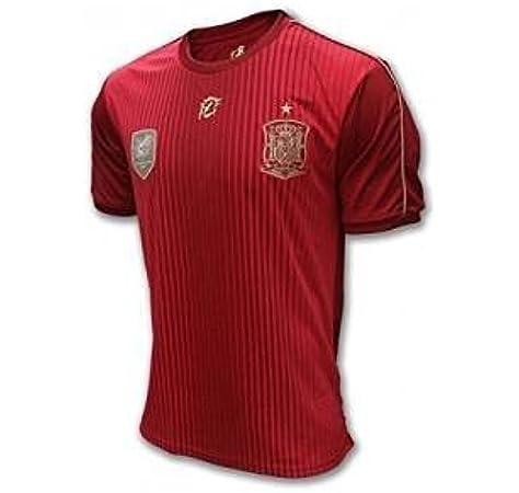 Camiseta Oficial Real Federación Española Infantil (14): Amazon.es: Deportes y aire libre