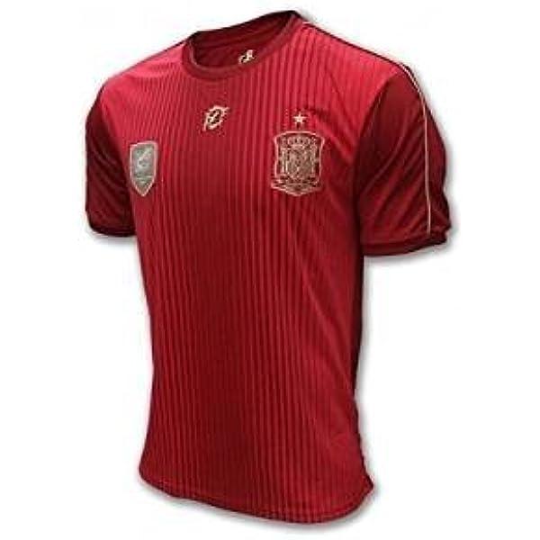 Camiseta Oficial Real Federación Española Infantil (8): Amazon.es ...