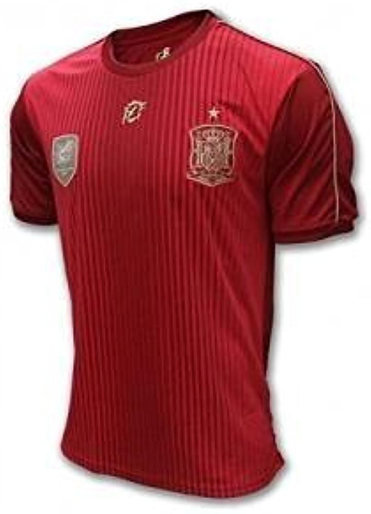 Camiseta Oficial Real Federación Española Infantil (4): Amazon.es ...