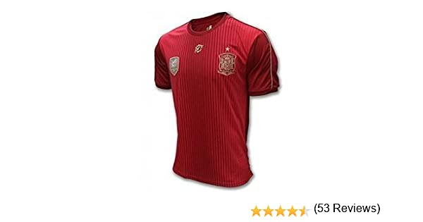 Camiseta Oficial Real Federación Española Infantil: Amazon.es: Deportes y aire libre