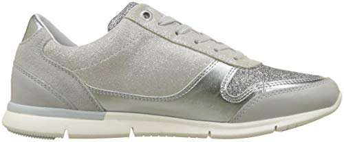 diamond Light Sneaker Femme Grey Sparkle Tommy Sneakers 001 Basses Gris Hilfiger Eq8gwF