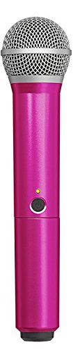 (Shure WA712-PNK Colored Handle Only for BLX2/PG58 Wireless Transmitters (Pink))