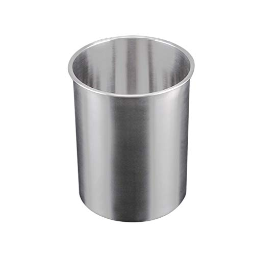 Hemoton Wine Cooler Bucket Stainless Steel Wine Cooler Wine Bottle Chiller Champagne Ice Bucket(2.5L/Silver)