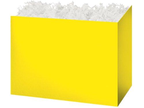 (A1BakerySupplies® 6 Pack Basket Gift Box Decorative Basket Gift Box (Large, Yellow))