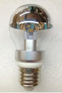 A19 Silver Bowl LED Clear Bulb 4 Watt & Amazon.com: Century Light - G45 / G14 Edison LED Bulb 4W - Silver ... azcodes.com