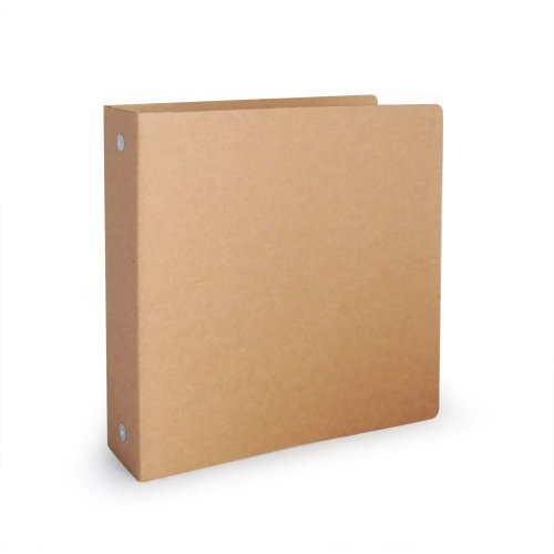 Recycled Cardboard Cover (Guided Products ReBinder Original Corrugated Recycled Binder, 1.5-Inch (GDP00052))