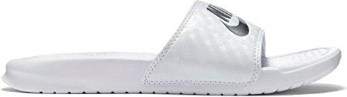 Nike Da Donna Bianco Jdi Fitness Benassi Scarpe r4wHqrt