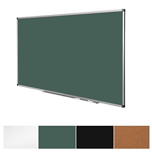 Green Magnetic Chalk Board | Aluminium Framed | Excellent Solution for Art, Notes and Memos | 3 Sizes Available | 36