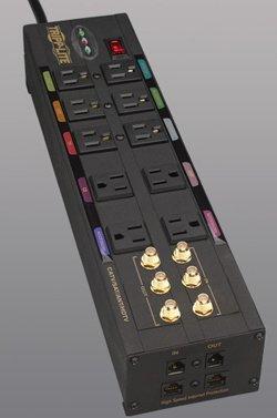 Tripp Lite 2E34360 Isobar Home/Business Theater Surge Suppressor (Isobar Surge Premium Suppressor)