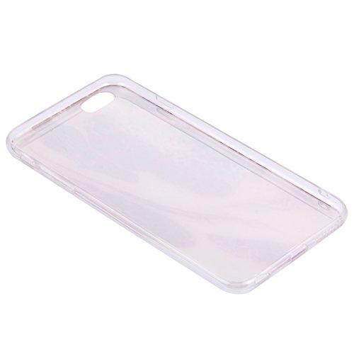 Phone Taschen & Schalen Für iPhone 6 Plus & 6s Plus Kohl Muster Soft TPU Schutzhülle Fall ( Color : Red )