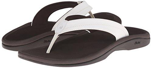 Dark Ohana White OLUKAI Women's Java Sandals dIz1qw4