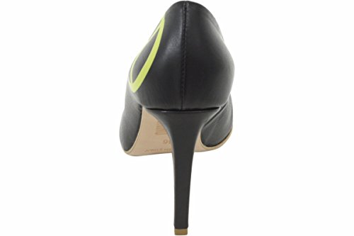 Love Moschino Women's Black Leather Stiletto Heels Shoes Sz: 6 by Love Moschino (Image #2)'