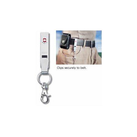 Victorinox Belt Hanger Key Fob, Stainless Steel (Army Hangers)