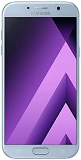 Samsung Galaxy A7 (2017) Factory Unlocked SM-A720F/DS 32GB 3GB Ram Dual Sim 4G LTE USA Caribbean & Latin International Version (Blue Mist)