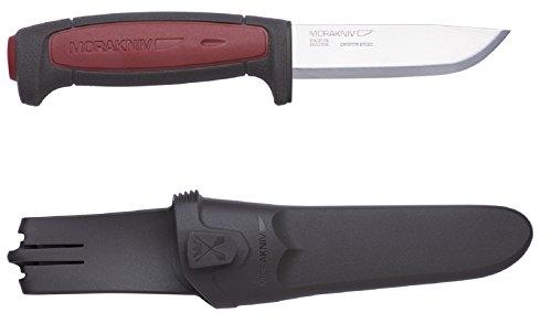 Bundle 3 Items: Morakniv Craft Robust Carbon Steel Knife, Morakniv Craft Pro S Stainless Steel Knife, and Morakniv Craft Pro C Carbon Steel Knife