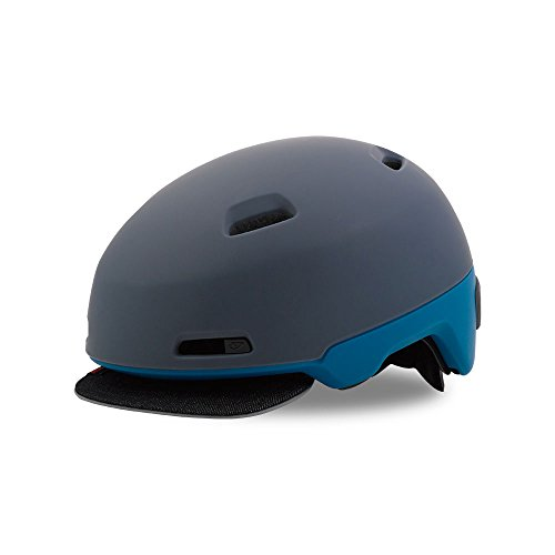 Giro Sutton Cycling Helmet Matte Dark Slate/Blue Teal Large (59-63 - Helmet Giro Blue Bicycle