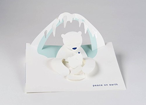 Robert Sabuda Polar Bears Boxed Holiday Pop Up Cards