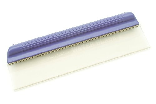 Original Water Blade! Silicone T-Bar Waterblade, Classic 12 Inch Purple