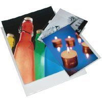 Print File 6-mil Polypropylene Presentation Pockets, 9x12''-100, (9x12-6PR-100)