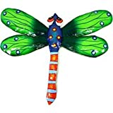 Green Metal Dragonfly - 11 Inches - Haiti