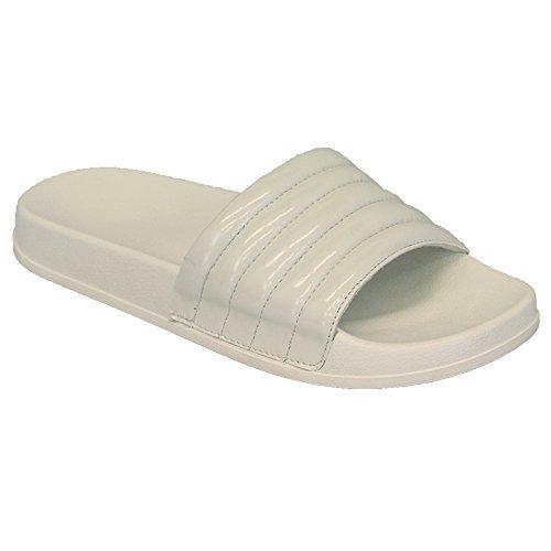 Damen ohne Bügel Zehentrenner Pantoffeln Maultier Sandalen