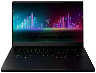 Razer Blade 15 Base Gaming Laptop 2020: Intel Core i7-10750H 6-Core, NVIDIA GeForce GTX 1660 Ti, 15.6″ FHD 1080p 120Hz, 16GB RAM, 256GB SSD, CNC Aluminum, Chroma RGB Lighting, Black