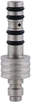 XBF-Armas de Aire comprimido, Acero Inoxidable Webley Hatsan RWS Prestige Evanix Carga de llenado Sonda (Color : Plata)