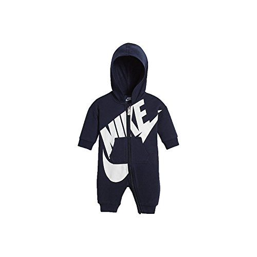 Price comparison product image Nike Infant Futura Coverall Romper (3-6 Months,  Obsidian (695) / White / Obsidian)