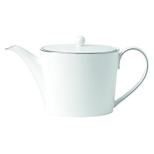 (Royal Doulton Signature Platinum Teapot, 5.25