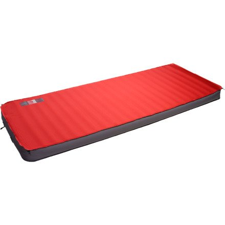 Exped MegaMat 10 Sleeping Mat (Ruby Red, Long Wide), Outdoor Stuffs