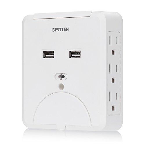 Flat Wall Plug Amazon Com