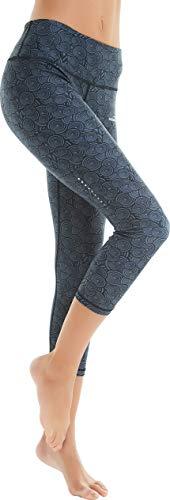 COOLOMG Women's Leggings Yoga Capri Pants Compression