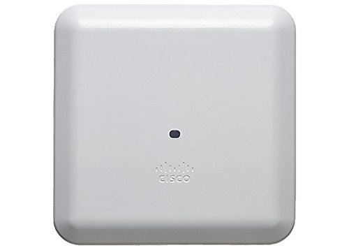 Cisco Aironet Wireless Access Point – AIR-AP2802I-B-K9 (3 MU-MIMO Streams, 2.4GHz and 5GHz Radios, Wave 2, 802.3at PoE)