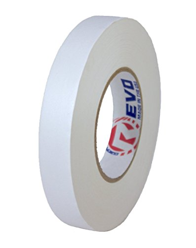 REVO Premium Professional Gaffers Tape MADE IN USA Camera Tape-Better than Duct Tape SINGLE ROLL (WHITE GAFFERS 1
