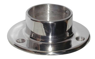 Wall Flange Satin Stainless Steel - 5